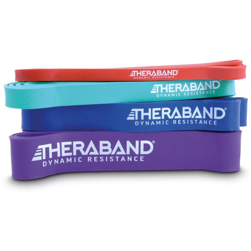 Thera-Band - theraband high resistance band set – 4 resistance bands